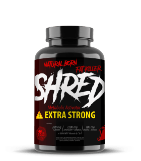 SHRED Black Extra Strong